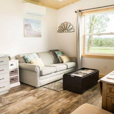 Tiny House - Living Room 1 - Oostema Farmstead