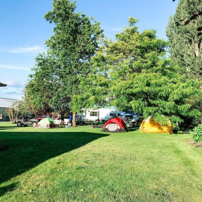 Camping in Lynden